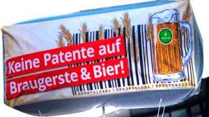 Resultate beim Patent auf Braugerste
